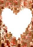 Muito presentes na maneira do coração imagens de stock royalty free