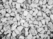 Muito rocha pequena para a textura do fundo Fotos de Stock Royalty Free