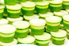 Muito sobremesa verde Foto de Stock