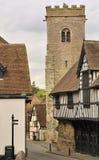 Muito Wenlock, Shropshire, Inglaterra imagens de stock