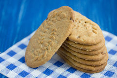 Muitos biscoitos Fotografia de Stock