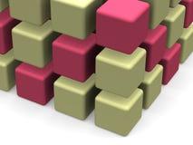 Muitos blocos Foto de Stock