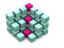 Muitos blocos Imagem de Stock Royalty Free