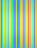 Muitos blured cores listradas Fotos de Stock Royalty Free
