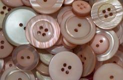 Muitos botões do rosa Imagens de Stock