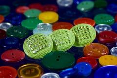 Muitos botões multi-coloridos Imagem de Stock Royalty Free