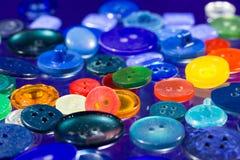 Muitos botões multi-coloridos Fotografia de Stock Royalty Free