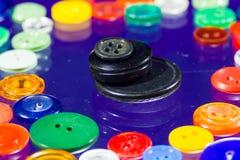 Muitos botões multi-coloridos Fotos de Stock Royalty Free
