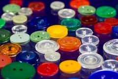 Muitos botões multi-coloridos Fotos de Stock