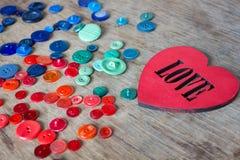 Muitos botões multi-coloridos Imagem de Stock