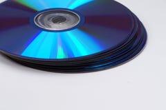 Muitos CD imagem de stock