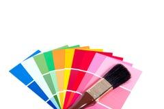 Muitos colorem amostras Fotografia de Stock