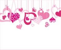 Muitos corações Foto de Stock