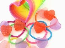 Muitos corações diferentes Fotografia de Stock Royalty Free