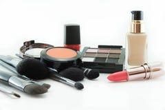 Muitos cosméticos colorem o conceito de A Fotografia de Stock