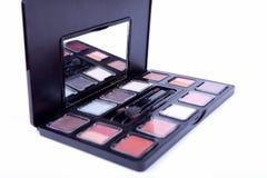 Muitos cosméticos profissionais para compo Imagens de Stock Royalty Free