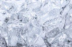 Muitos cubos de gelo Fotos de Stock