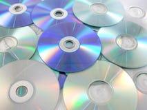 Muitos discos Fotografia de Stock