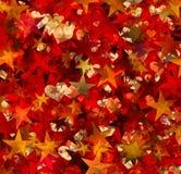 Muitos estrelas e corações pintados Foto de Stock Royalty Free