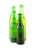 Muitos frascos da cerveja Fotos de Stock