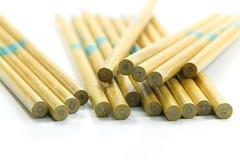 Muitos lápis fotos de stock royalty free