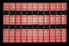 Muitos livros velhos. Fotos de Stock