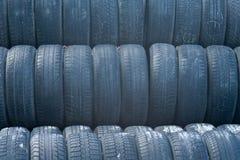 Muitos pneus Foto de Stock Royalty Free