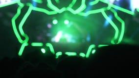 Muitos povos no concerto Festival de m?sica vídeos de arquivo