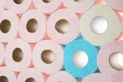 Muitos rolos de papel higiênico fotografia de stock royalty free