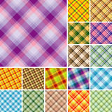 Muitos testes padrões sem emenda da manta Imagens de Stock