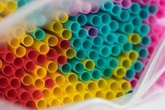 Muitos tubos brilhantes como o fundo Imagem de Stock