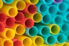 Muitos tubos brilhantes como o fundo Imagens de Stock