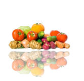 Muitos vegetais maduros Foto de Stock Royalty Free