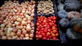 muitos vegetarianos Foto de Stock