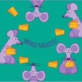 muizen stock illustratie