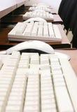 Muizen en toetsenborden stock foto
