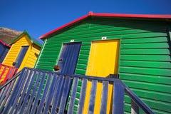 muizenberg 2 пляжей Стоковое Изображение