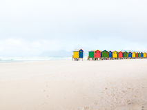 Muizenberg Beach, Cape Town, South Africa Royalty Free Stock Photography