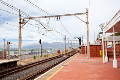 Muizenberg railway station Royalty Free Stock Image