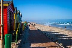 Muizenberg strand Royaltyfri Fotografi