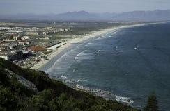 Muizenbergstrand in Cape Town, Zuid-Afrika Stock Foto's