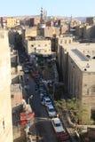 Muizz街道老fatemid开罗,埃及 库存图片
