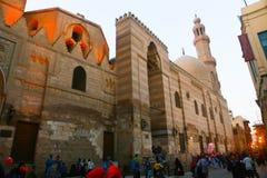 Muizz街道Od fatemid开罗,埃及 库存图片