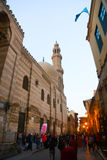 Muizz street Old fatemid Cairo, Egypt Royalty Free Stock Images