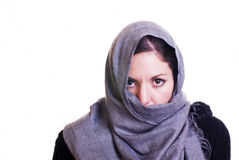 Mujer árabe Imagen de archivo libre de regalías