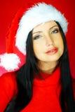 Mujer 2 de Santas foto de archivo