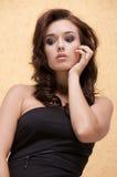 Mujer adulta hermosa de la sensualidad Foto de archivo libre de regalías