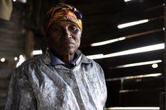 Mujer africana Foto de archivo