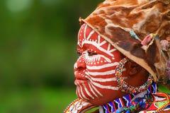Mujer africana Fotografía de archivo libre de regalías