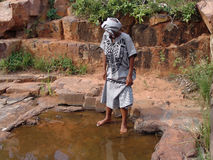 Mujer africana Imagenes de archivo